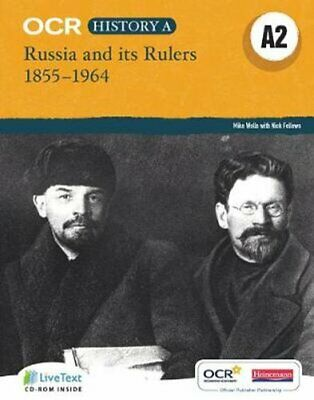 OCR A Level History A2: Russia And Its Rulers 1855-1964 9780435312428 • 27.33£