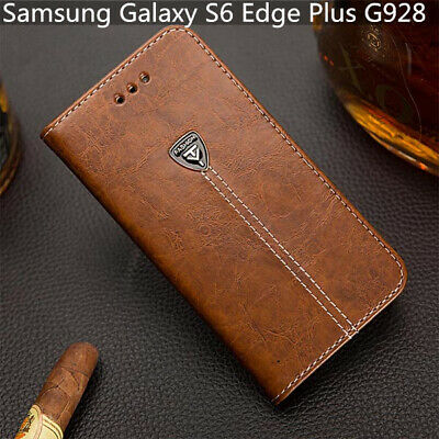 $ CDN10.57 • Buy For Samsung Galaxy S6 Edge Plus G928 Slot Wallet Cover 5.7'' Leather Phone Case