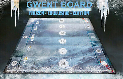$ CDN44.18 • Buy GWENT CARD GAME BOARD THE WITCHER 3 WILD HUNT PLAYING White Frost Extanded