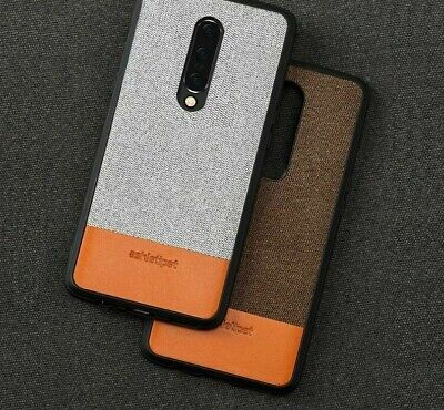 AU25.07 • Buy Leather Phone Shell Cases For Oneplus 7 Pro Business Mobile Protective Accessory