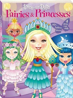 Dress Up Dolls: Fairies And Princesses Bind-up, , Used; Good Book • 4.99£