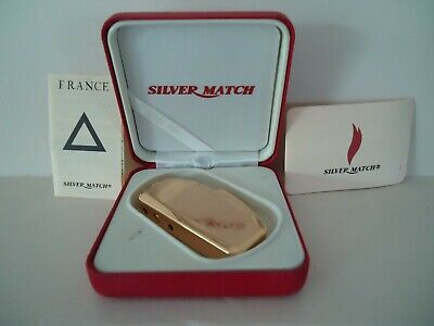 £14.47 • Buy Briquet Silver Match France Rechargeable Lighter Boxed + Manuals