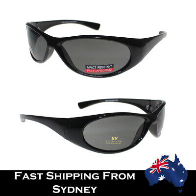 AU17.95 • Buy 2020 Hot Mens Sports Retro Sunglasses Wrap Around  Black UV Protection