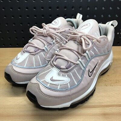 separation shoes 3c7d0 86fb6 Nike Air Max 98 Barely Rose Pink Running Shoe AH6799-600 Women s Size 10 •
