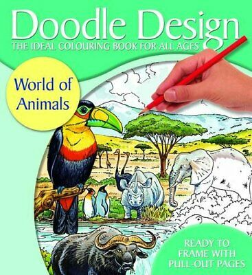 £3.29 • Buy Doodle Design World Of Animals - FSC By ANON Paperback Book The Cheap Fast Free