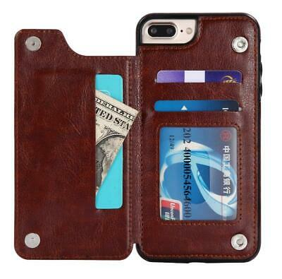AU12.39 • Buy For IPhone 12 11 Pro Max XR XS 8 7 6 Wallet Case Flip Leather Card Holder Cover