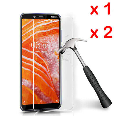 AU3.71 • Buy For Nokia 3.1 5.1 X6 6.1 7Plus 6 8 Tempered Glass Screen Protector Film Guard-SL