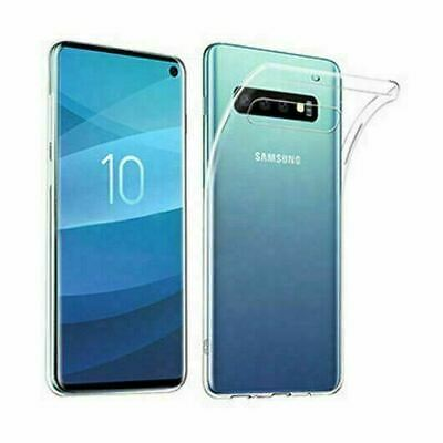 AU5.49 • Buy Samsung Galaxy S20+ S10 Note 20 10 9 S8+ S7 S6 Case Crystal Clear Gel Thin COVER