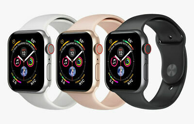 $ CDN537.42 • Buy Apple Watch Series 4 44mm 4G Cellular (LTE) Space Gray, Silver, Rose Gold