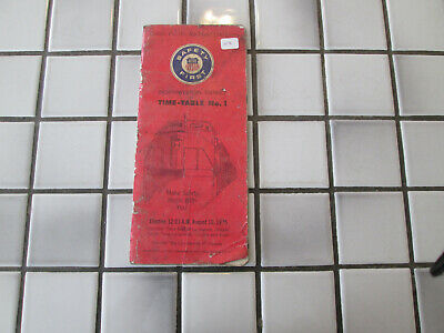 $12.75 • Buy Union Pacific Northwestern District Timetable #1