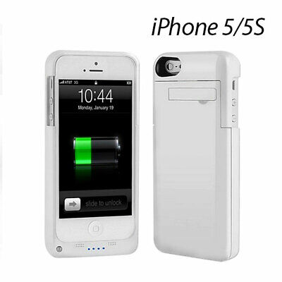 AU28.41 • Buy EZcool Battery Portable Charger Case For IPhone 5 5S White Color
