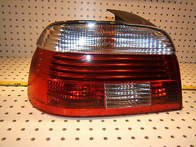 $198 • Buy BMW Late E39 Rear Trunk LEFT Driver HELLA LED Taillight Genuine BMW OEM 1 Lens