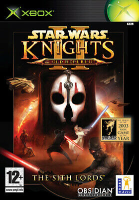 £9.98 • Buy Star Wars Knights Of The Old Republic II: The Sith Lords (Xbox) PEGI 12+