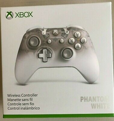 Xbox One Wireless Controller Phantom White Special Edition [Brand New] Fast Ship • 59.99$