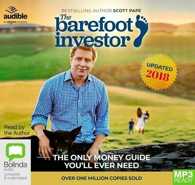 AU34.95 • Buy NEW The Barefoot Investor : The Only Money Guide You'll Ever Need, 2018/2019 Edi