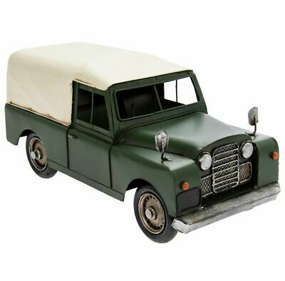Vintage Transport Land Rover 4 X 4 Model Tin Ornament Collectable Lp43745 • 29.95£