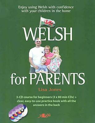 Welsh For Parents: Learn Everyday Welsh For... By Lisa Jones Mixed Media Product • 18.99£