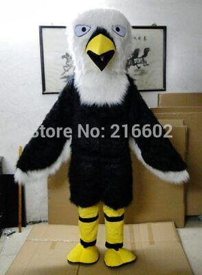 Eagle Cosplay Mascot Costume Suit Party Fancy Dress Outfit Halloween Adult @ • 179.39£