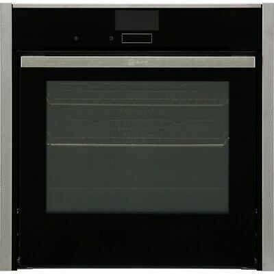 £1169 • Buy NEFF B57VS24H0B N90 Slide&Hide® Built In 60cm A Electric Single Oven Stainless