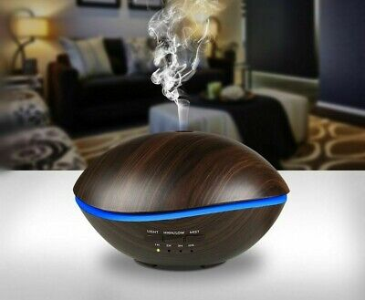 AU66.44 • Buy Air Ultrasonic Humidifier For Home 500 LED Light Essential Oil Diffuser Atomizer