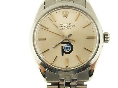 $ CDN7060.04 • Buy Rolex Airking Vintage Pool Intrairdrile Logo, Box And Papers, 70's, Collectors I
