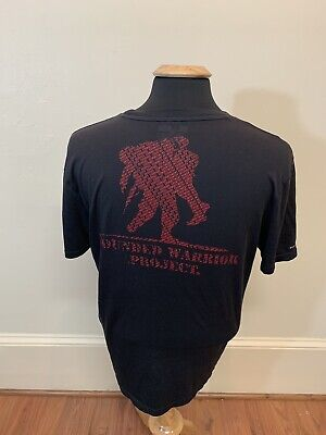 b723167f Men's Under Armour Heat Gear Wounded Warrior Project Short Sleeve T-Shirt  Medium • 12.00