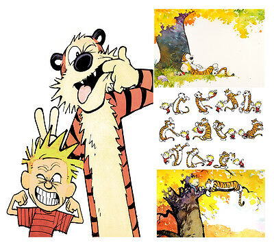 Calvin And Hobbes Poster Print Wall Art A2/a3/a4 Choose From Four Designs • 13.99£