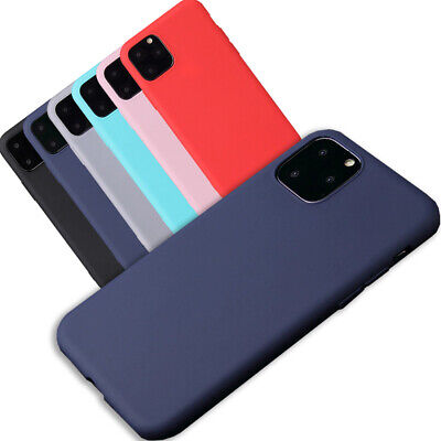 AU4.49 • Buy For Apple IPhone 12 11 Max XR XS X Silicone Case Soft Slim Rubber Gel Thin Cover
