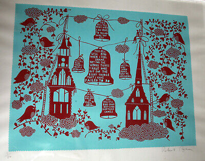 Rob Ryan Limited Edition Signed Print - Rare 1 Of Only 14 - Excellent Condition • 325£