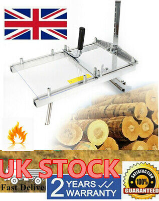 £59 • Buy 14 -20  Mill Chainsaw Log Lumber Planking Cutting Chain Saw Guide Bar Adjustable
