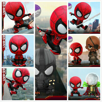 $ CDN119 • Buy Hot Toys COSB628-634  Spiderman Far From Home  COSBABY Mini PVC Figure Toys Gift
