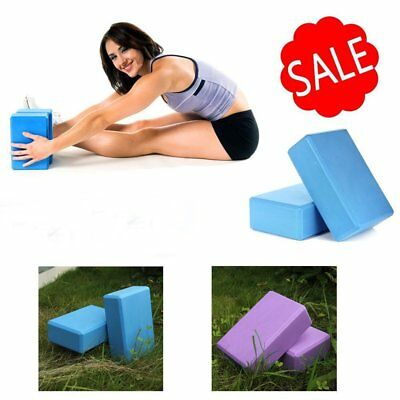 AU1 • Buy Yoga Block Brick Foaming Home Exercise Practice Fitness Gym Sport Tool 9g