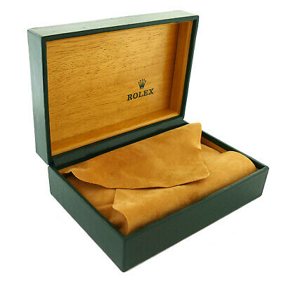 $ CDN220.49 • Buy Rolex Green Leather Watch Presentation Box With Pillow And Outerbox 68.00.71