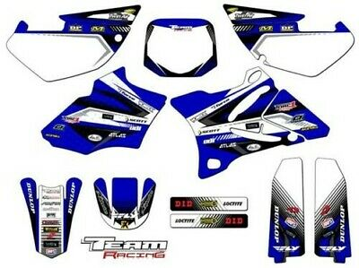 AU118.91 • Buy 2002-2014 Yamaha Yz 85 Graphics Kit Decals 2013 2012 2011 2010 2009 2008 2007