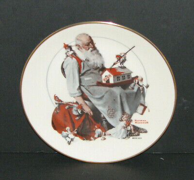 $ CDN29.64 • Buy Norman Rockwell  Santa's Helpers  Gorham Christmas Collectors Plate 1979