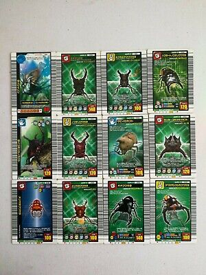 $ CDN11.28 • Buy Mushiking:KING OF BEETLE CARD 12 CARDS USED CONDITION FOR PLAY ARCADE GAME #1661