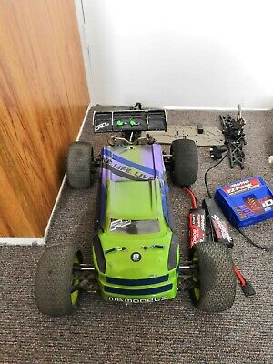 Losi 8ight Rc Buggy 1/8 Scale Electric Conversion+lots Of Spares • 460£