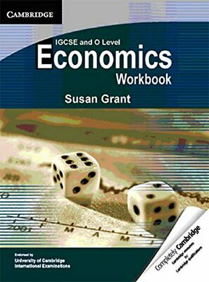 IGCSE And O Level Economics Workbook By Grant, Susan Paperback Book The Cheap • 5.99£