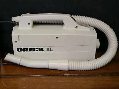 Oreck XL BB870-AW Handheld Compact Canister Vacuum Cleaner- Tested • 35$