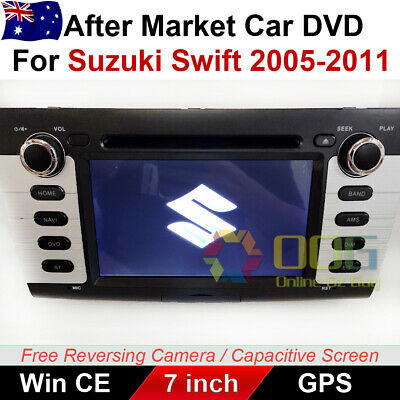 "AU499 • Buy 7"" Car DVD GPS Navigation Head Unit Stereo Player For Suzuki Swift 2005-2011"