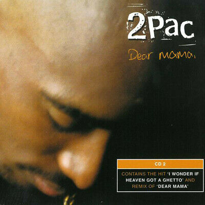 2Pac – Dear Mama. CD Single. Mint. • 4.95£