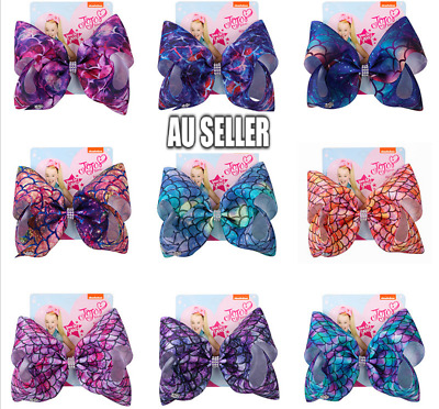 AU7.99 • Buy Starry Sky Jojo Siwa Bows Girls Fashion Hair Accessories Party 11 Styles 2020