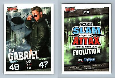 DJ Gabriel - WWE Slam Attax Evolution 2009 Topps TCG Card • 0.99£