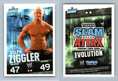 Dolph Ziggler - WWE Slam Attax Evolution 2009 Topps TCG Card • 0.99£