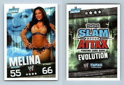 Melina - WWE Slam Attax Evolution 2009 Topps TCG Card • 0.99£
