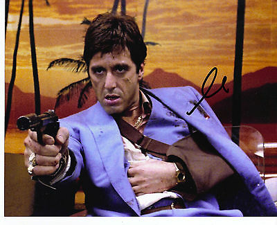 £249.99 • Buy Al Pacino Genuine Hand Signed 10x8 In Person Autograph SCARFACE (5150)