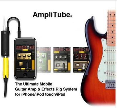 $ CDN11.57 • Buy Guitar Link Audio Interface AMP Effects Pedal Adapter Tuner Convertor For IPhone