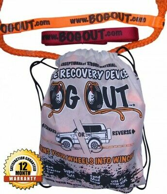 AU159 • Buy BOG OUT 4WD 4x4 Recovery Kit (Single) Best Alternative To Winch - TESTED & WORKS