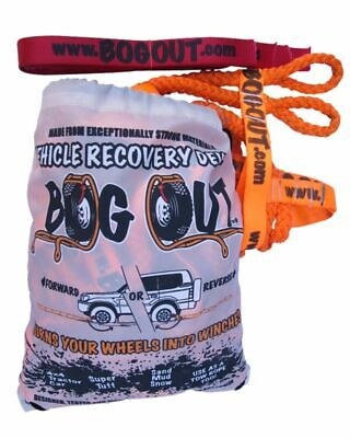 AU279 • Buy NEW BOG OUT 4WD Recovery Gear 4x4 TWIN KIT  Turns Wheels To A Winch