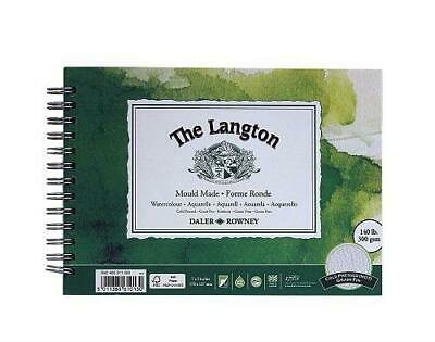 Daler Rowney Langton Watercolour Cold Pressed Spiral Pad - 7  X 5  • 8.15£